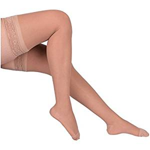 Over the knee compression stockings